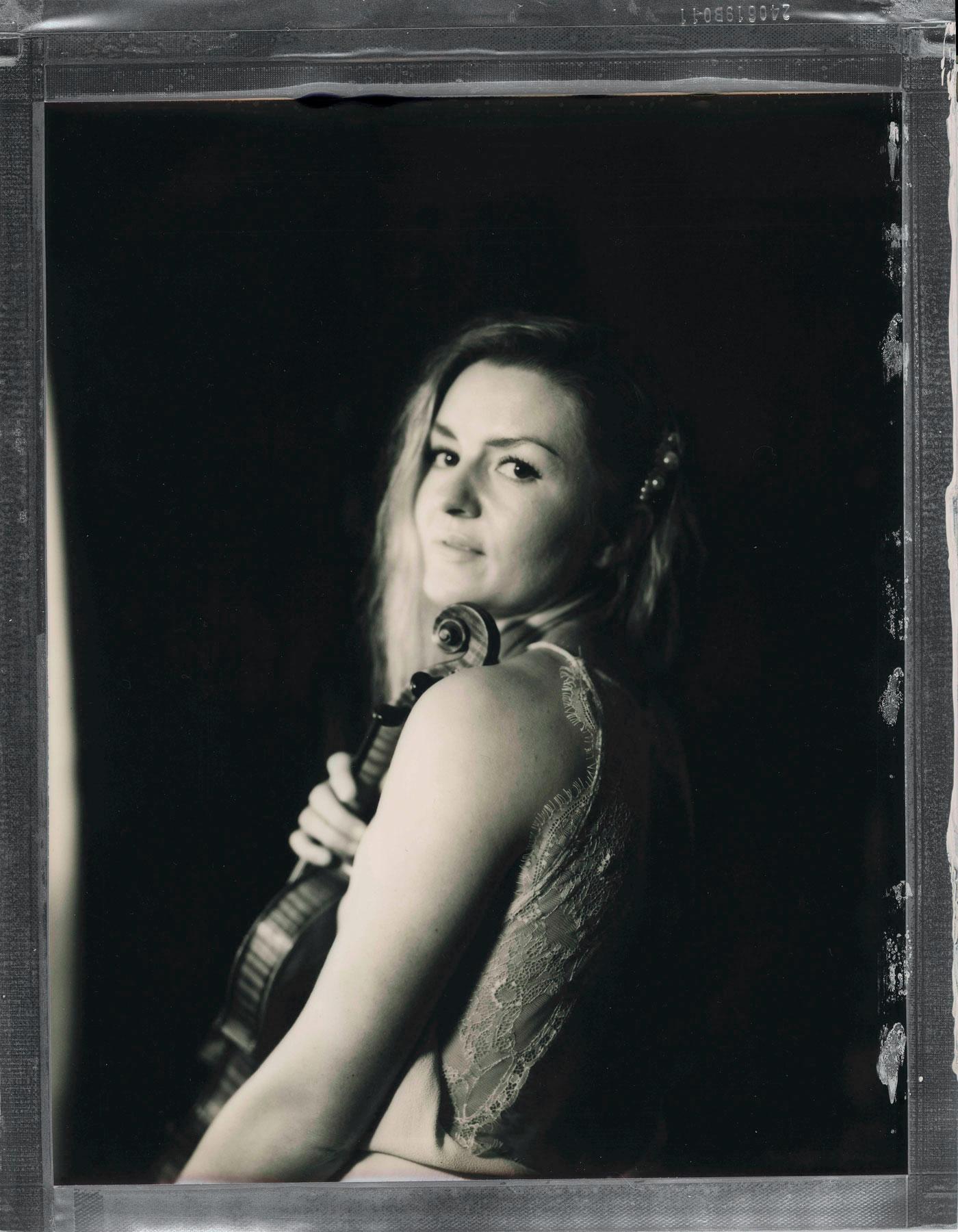 Fotograf Oslo fotograferer en fiolinist