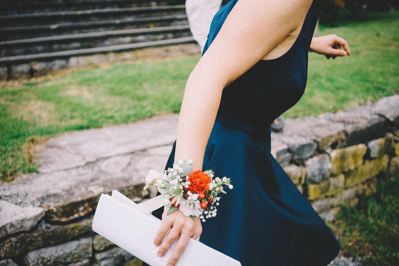 gjest i bryllup løper